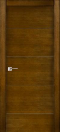 Межкомнатная дверь La Porte Modern 100-2 Дуб коньяк глухое полотно