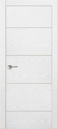 Межкомнатная дверь La Porte Modern 100-2 Ясень бланко глухое полотно