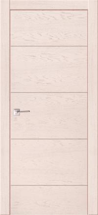 Межкомнатная дверь La Porte Modern 100-2 Ясень Карамель глухое полотно