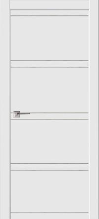 Межкомнатная дверь La Porte Modern 100-2-2 Эмаль белая глухое полотно