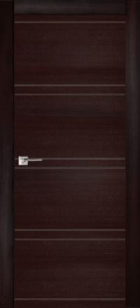 Межкомнатная дверь La Porte Modern 100-2-2 Ясень браун глухое полотно