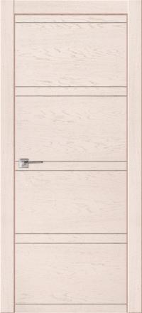 Межкомнатная дверь La Porte Modern 100-2-2 Ясень Карамель глухое полотно
