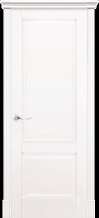 Межкомнатная дверь La Porte New Classic 200-1 Эмаль белая глухое полотно