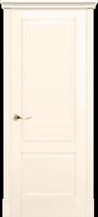 Межкомнатная дверь La Porte New Classic 200-1 Эмаль слоновая кость глухое полотно