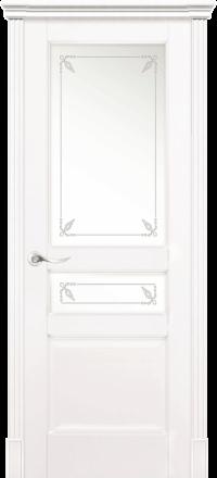 Межкомнатная дверь La Porte New Classic 200-2 Эмаль белая контур Прима