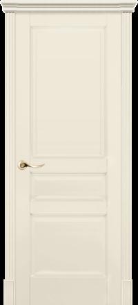 Межкомнатная дверь La Porte New Classic 200-2 Эмаль слоновая кость глухое полотно