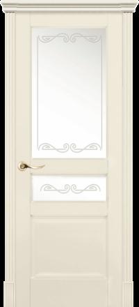 Межкомнатная дверь La Porte New Classic 200-2 Эмаль слоновая кость матирование Крит