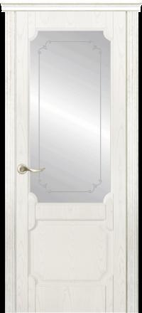 Межкомнатная дверь La Porte New Classic 200-3 Ясень бланко контур Адель