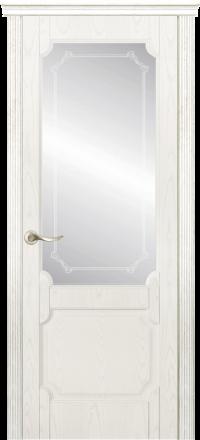 Межкомнатная дверь La Porte New Classic 200-3 Ясень бланко матирование Кифа