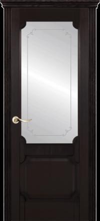 Межкомнатная дверь La Porte New Classic 200-3 Ясень браун контур Адель