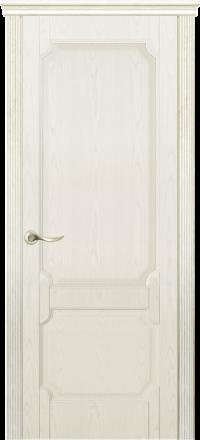 Межкомнатная дверь La Porte New Classic 200-3 Ясень Карамель глухое полотно