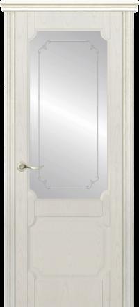 Межкомнатная дверь La Porte New Classic 200-3 Ясень Карамель контур Адель