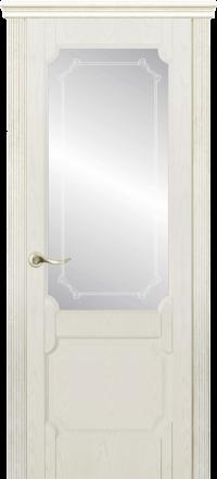 Межкомнатная дверь La Porte New Classic 200-3 Ясень Карамель матирование Кифа