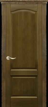 Межкомнатная дверь La Porte New Classic 200-4 Дуб коньяк глухое полотно