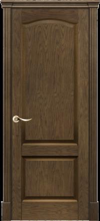 Межкомнатная дверь La Porte New Classic 200-4 Дуб миндаль глухое полотно