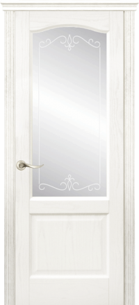 Межкомнатная дверь La Porte New Classic 200-4 Ясень бланко матирование Рада