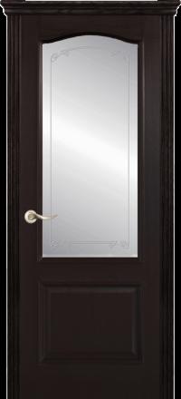 Межкомнатная дверь La Porte New Classic 200-4 Ясень браун контур Белла