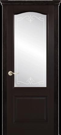 Межкомнатная дверь La Porte New Classic 200-4 Ясень браун матирование Рада