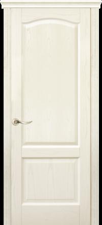 Межкомнатная дверь La Porte New Classic 200-4 Ясень Карамель глухое полотно