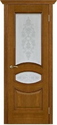 Межкомнатная дверь Porte Vista Классика Ницца античный дуб со стеклом