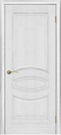 Межкомнатная дверь Porte Vista Классика Ницца серебряная патина глухая