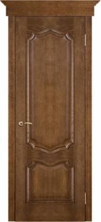 Межкомнатная дверь Porte Vista Классика Премьера каштан глухая
