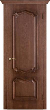 Межкомнатная дверь Porte Vista Классика Премьера патина голд глухая