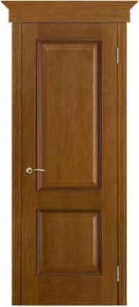 Межкомнатная дверь Porte Vista Классика Шервуд античный дуб глухая