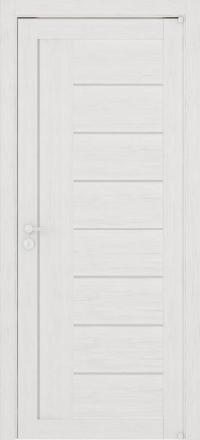 Межкомнатная дверь Uberture Eco-Light 2110 велюр капучино со стеклом