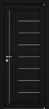Межкомнатная дверь Uberture Eco-Light 2110 велюр шоко со стеклом