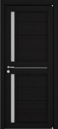 Межкомнатная дверь Uberture Eco-Light 2121 велюр шоко со стеклом