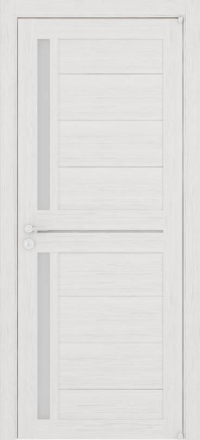 Межкомнатная дверь Uberture Eco-Light 2121 велюр капучино со стеклом