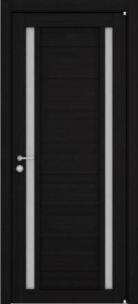 Межкомнатная дверь Uberture Eco-Light 2122 велюр шоко со стеклом