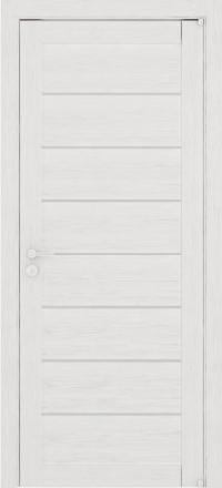Межкомнатная дверь Uberture Eco-Light 2125 велюр капучино со стеклом