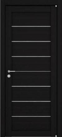 Межкомнатная дверь Uberture Eco-Light 2125 велюр шоко со стеклом