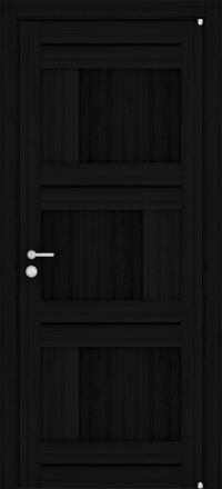 Межкомнатная дверь Uberture Eco-Light 2180 велюр шоко глухая