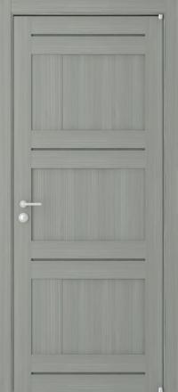 Межкомнатная дверь Uberture Eco-Light 2180 велюр графит глухая