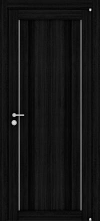 Межкомнатная дверь Uberture Eco-Light 2190 велюр шоко со стеклом