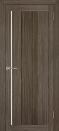 Межкомнатная дверь Uberture Eco-Light 2190 велюр графит со стеклом