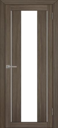 Межкомнатная дверь Uberture Eco-Light 2191 велюр графит со стеклом