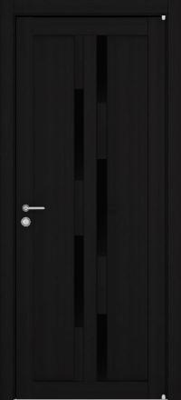 Межкомнатная дверь Uberture Eco-Light 2198 велюр шоко со стеклом