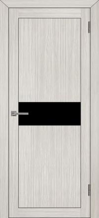 Межкомнатная дверь Uberture UniLine 30001 велюр капучино со стеклом