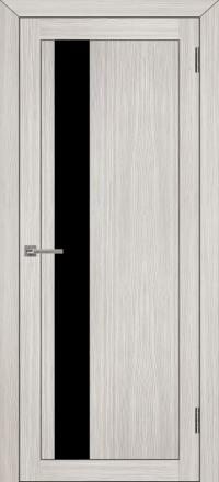 Межкомнатная дверь Uberture UniLine 30004 велюр капучино со стеклом