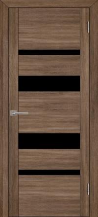 Межкомнатная дверь Uberture UniLine 30013 велюр серый со стеклом