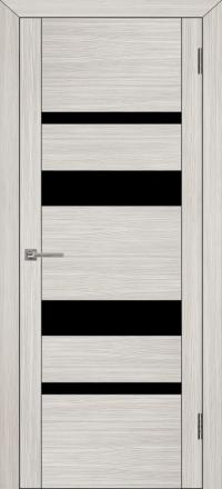 Межкомнатная дверь Uberture UniLine 30013 велюр капучино со стеклом