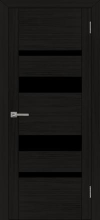 Межкомнатная дверь Uberture UniLine 30013 велюр шоко со стеклом