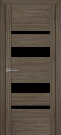 Межкомнатная дверь Uberture UniLine 30013 велюр графит со стеклом