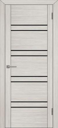 Межкомнатная дверь Uberture UniLine 30026 велюр капучино со стеклом
