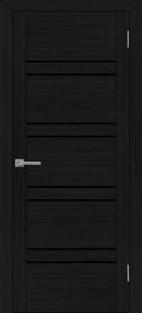 Межкомнатная дверь Uberture UniLine 30026 велюр шоко со стеклом