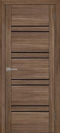 Межкомнатная дверь Uberture UniLine 30026 велюр серый со стеклом